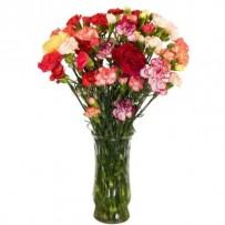 Carnations Flower Bouquet