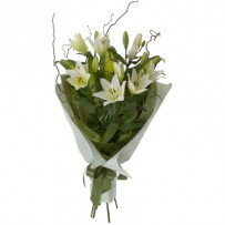 Sympathy Lily Bouquet